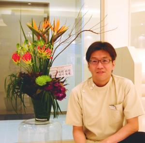 お花と院長
